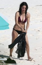COURTENEY COX n Bikini on Vacation in Bahamas 04/03/2017