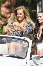 COURTNEY GREEN on the Set of Towie Finale in Coventry 04/26/2017