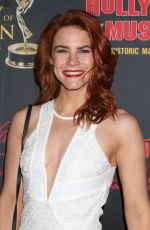 COURTNEY HOPE at Daytime Emmy Awards Nominee Reception in Los Angeles 04/26/2017
