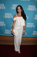 COURTNEY REED at Speech & Debate Premiere in New York 04/02/2017