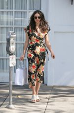 CRYSTAL REED Out Shopping in Los Angeles 04/12/2017