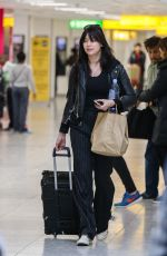 DAISY LOWE at Heathrow Airport in London 04/14/2017
