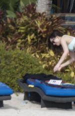 DAKOTA JOHNSON in Bikini on the Beach in Miami 04/03/2017