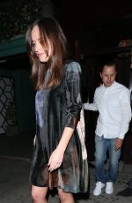 DAKOTA JOHNSON Leaves Peppermint Night Club in West Hollywood 04/22/2017