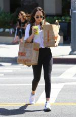 DAKOTA JOHNSON Out Shopping in Los Angeles 04/23/2017