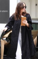 DAKOTA JOHNSON Out Shopping in Los Angeles 04/25/2017
