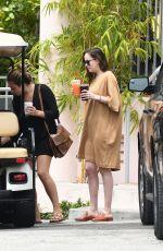 DAKOTA JOHNSON Outside Her Resort in Miami 04/02/2017