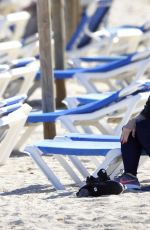 DANIELA KATZENBERGER at a Beach in Mallorca 03/30/2017