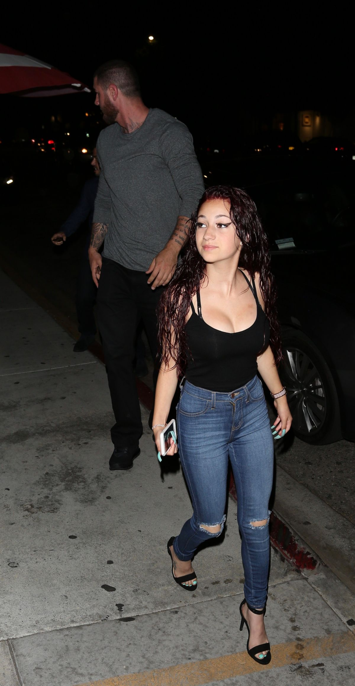 DANIELLE BREGOLI Arrives at Nobu Restaurant in Los Angeles 04/20/2017