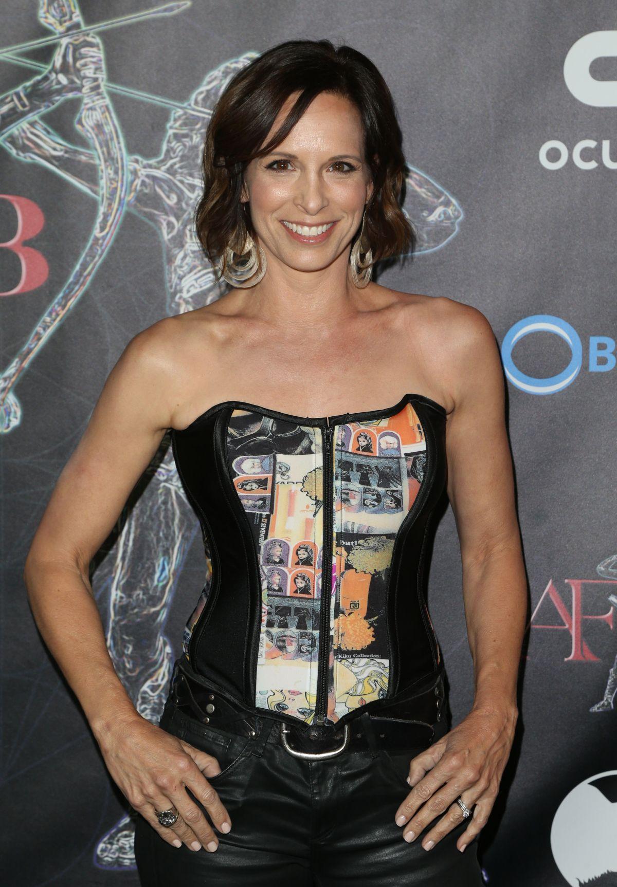 DANIELLE BURGIO at Artemis Women in Action Film Festival Gala in Los Angeles 04/21/2017