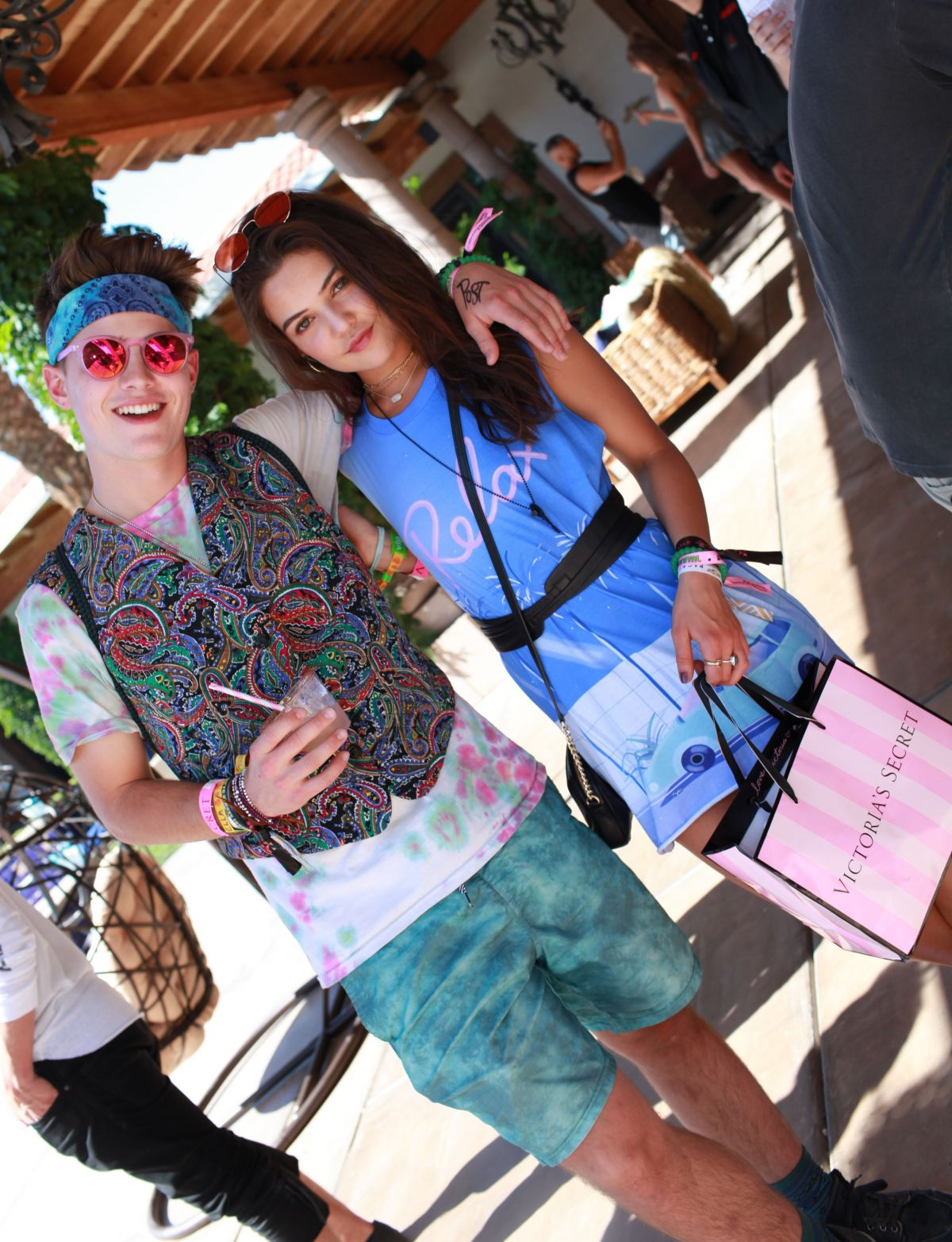 DANIELLE CAMPBELL at VS Angel Oasis at 2017 Coachella Music Festival in Indio 04/14/2017