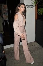 DANIELLE CAMPBELL Leaves Harper's Bazaar Party in Los Angeles 04/26/2017