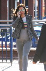 DANIELLE LLOYD Out Shopping in Sutton Coldfield 04/25/2017