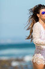 DANIELLE VASINOVA at a Beach in Los Angeles 04/12/2017