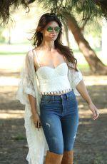DANIELLE VASINOVA at Balboa Park in Beverly Hills 03/31/1017