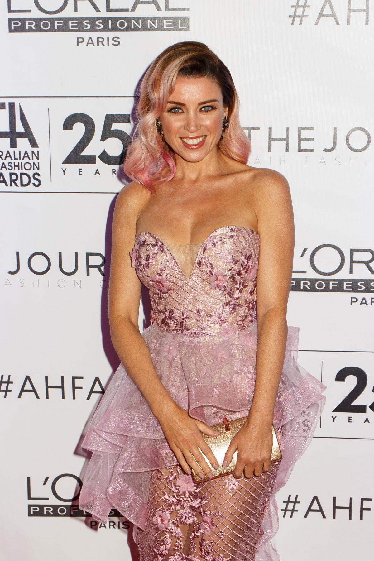 DANNII MINOGUE at Australian Hair Fashion Awards in Sydney 04/02/2017