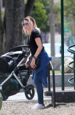 DANNII MINOGUE Out and About in Los Angeles 04/07/2017