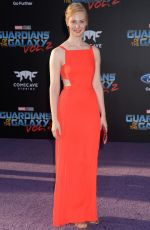 DEBORAH ANN WOLL at Guardians of the Galaxy Vol. 2 Premiere in Hollywood 04/19/2017