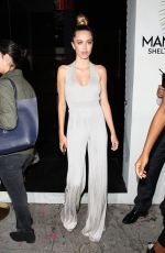 DELILAH HAMLIN Leaves Harper's Bazaar Party in Los Angeles 04/26/2017