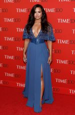 DEMI LOVATO at 2017 Time 100 Gala in New York 04/25/2017