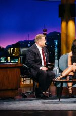 DEMI LOVATO at Late Late Show with James Corden in Los Angeles 04/05/2017