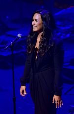 DEMI LOVATO Performs at 2017 Time 100 Gala 04/25/2017