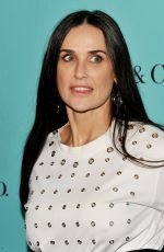 DEMI MOORE at 150 Years of Women, Fashion and New York Celebration in New York 04/19/2017