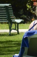 DENISE VAN OUTEN in Swimsuit on Vacation in Marbella 04/14/2017