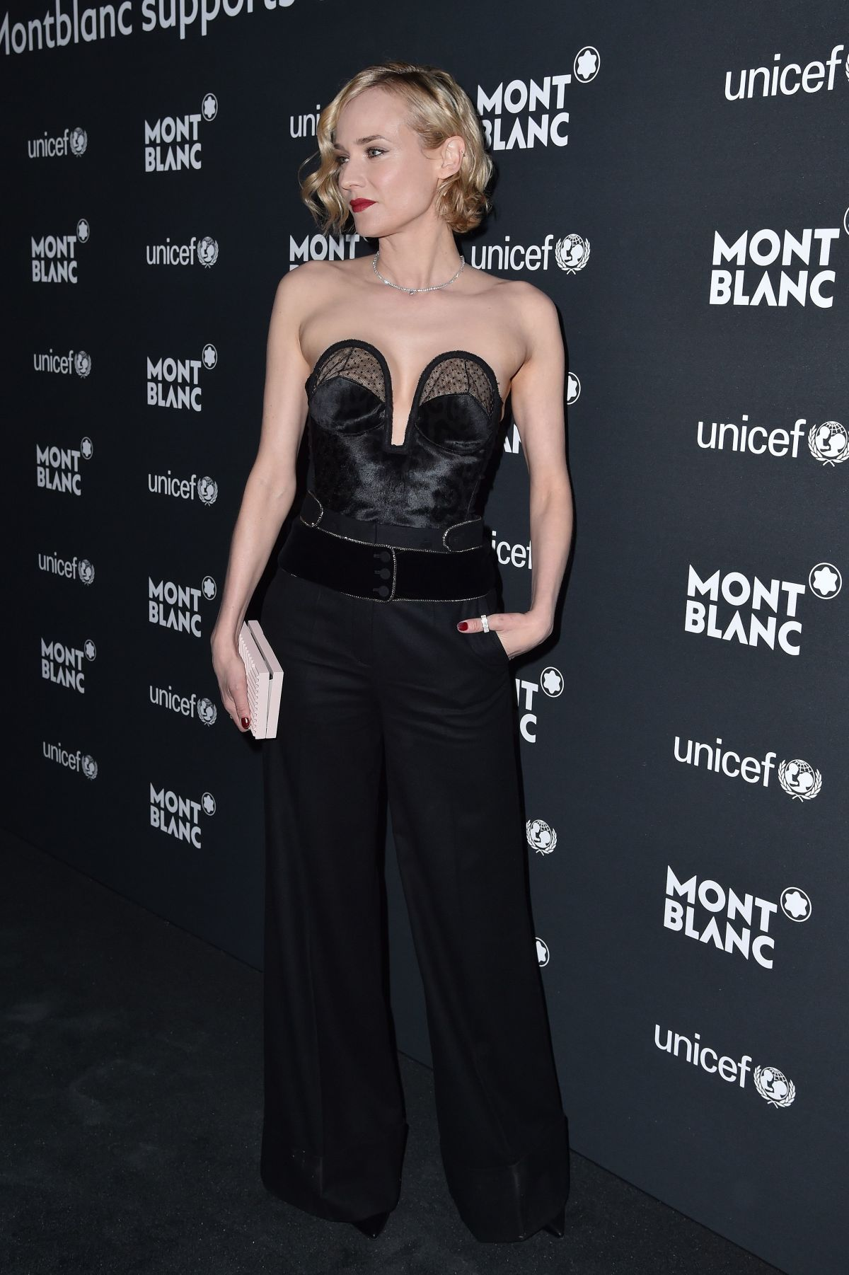 DIANE KRUGER at Montblanc for Unicef Collection Launch in New York 04/03/2017