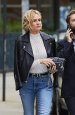 DIANE KRUGER in Jeans Out in New York 04/23/2017