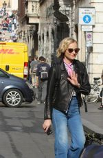 DIANE KRUGER Out and About in Rome 04/06/2017