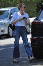 DIANE KRUGER Out in Beverly Hills 03/31/2017