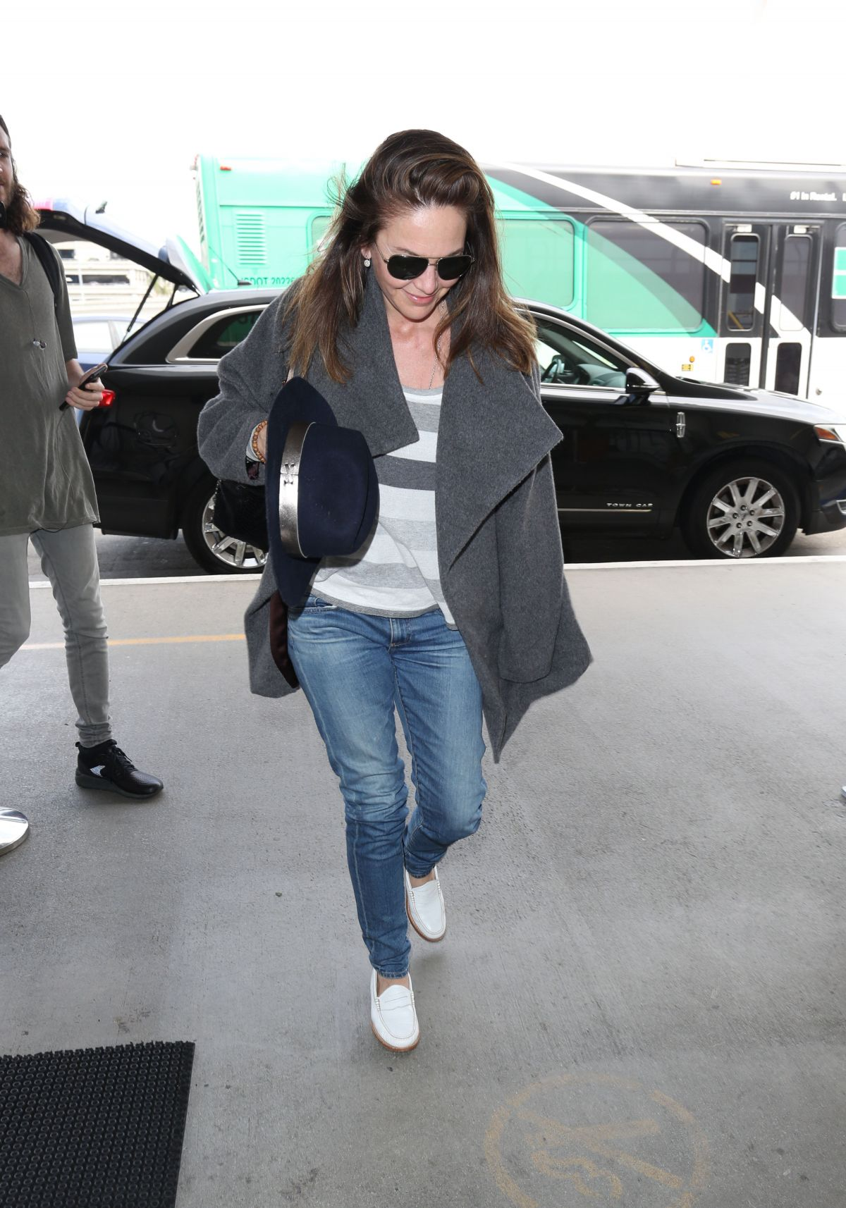 DIANE LANE at Los Angeles International Airport 04/17/2017 ...