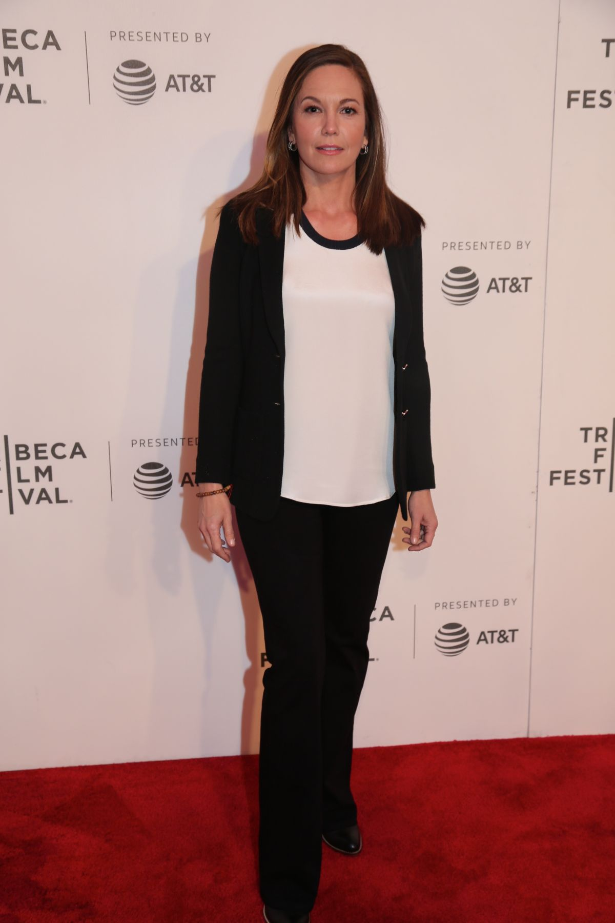 DIANE LANE at Paris Can Wait Premiere at 2017 Tribeca Film ...