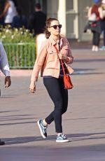 DIASY RIDLEY at Disney California Adventure Park in Anaheim 04/03/2017