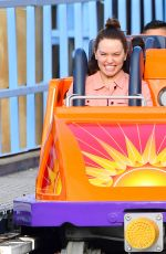 DIASY RIDLEY at Disney California Adventure Park in Anaheim 04/03/2017