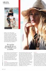 DOUTZEN KROES in Grazia Magazine, Netherlands April/May 2017 Issue