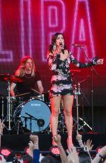 DUA LIPA Performs at Jimmy Kimmel Live 04/20/2017