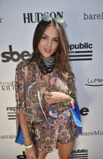 EIZA GONZALEZ at Republic Records & SBE Host Hyde Away Coachella Party in Indio 04/14/2017