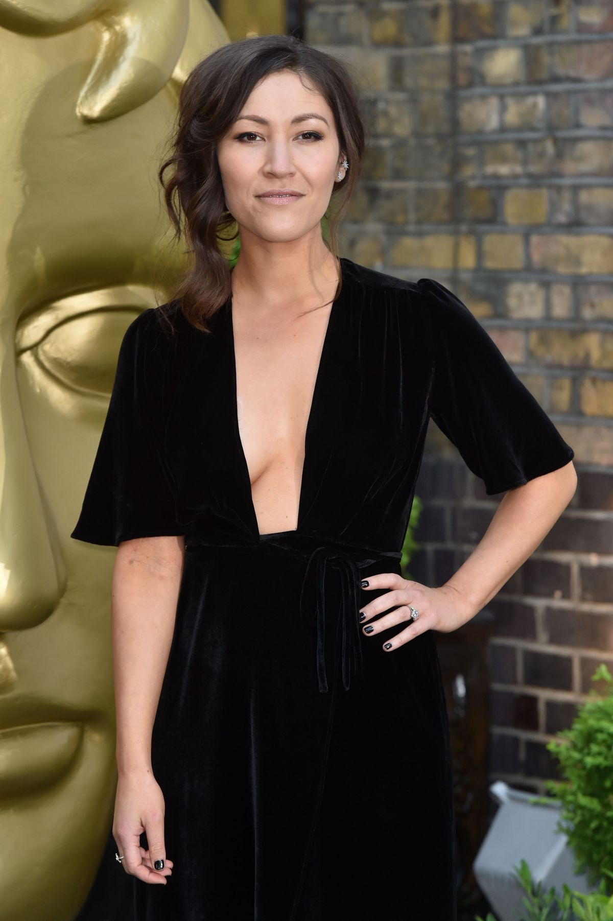 ELEANOR MATSUURA at British Academy Television Craft Awards in London 04/23/2017
