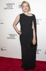 ELISABETH MOSS at The Handmaid's Tale Premiere at 2017 Tribeca Film Festival in New York 04/21/2017