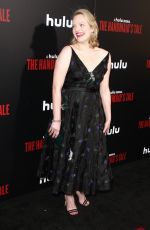 ELISABETH MOSS at The Handmaid's Tale Premiere in Los Angeles 04/25/2017