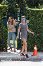 ELISABETTA CANALIS in Shorts Out and About in West Hollywood 04/03/2017