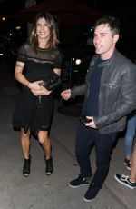 ELISABETTA CANALIS Night Out in West Hollywood 03/31/2017
