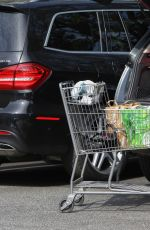 ELISABETTA CANALIS Out for Grocery Shopping at Bristol Farms in Beverly Hills 04/07/2017