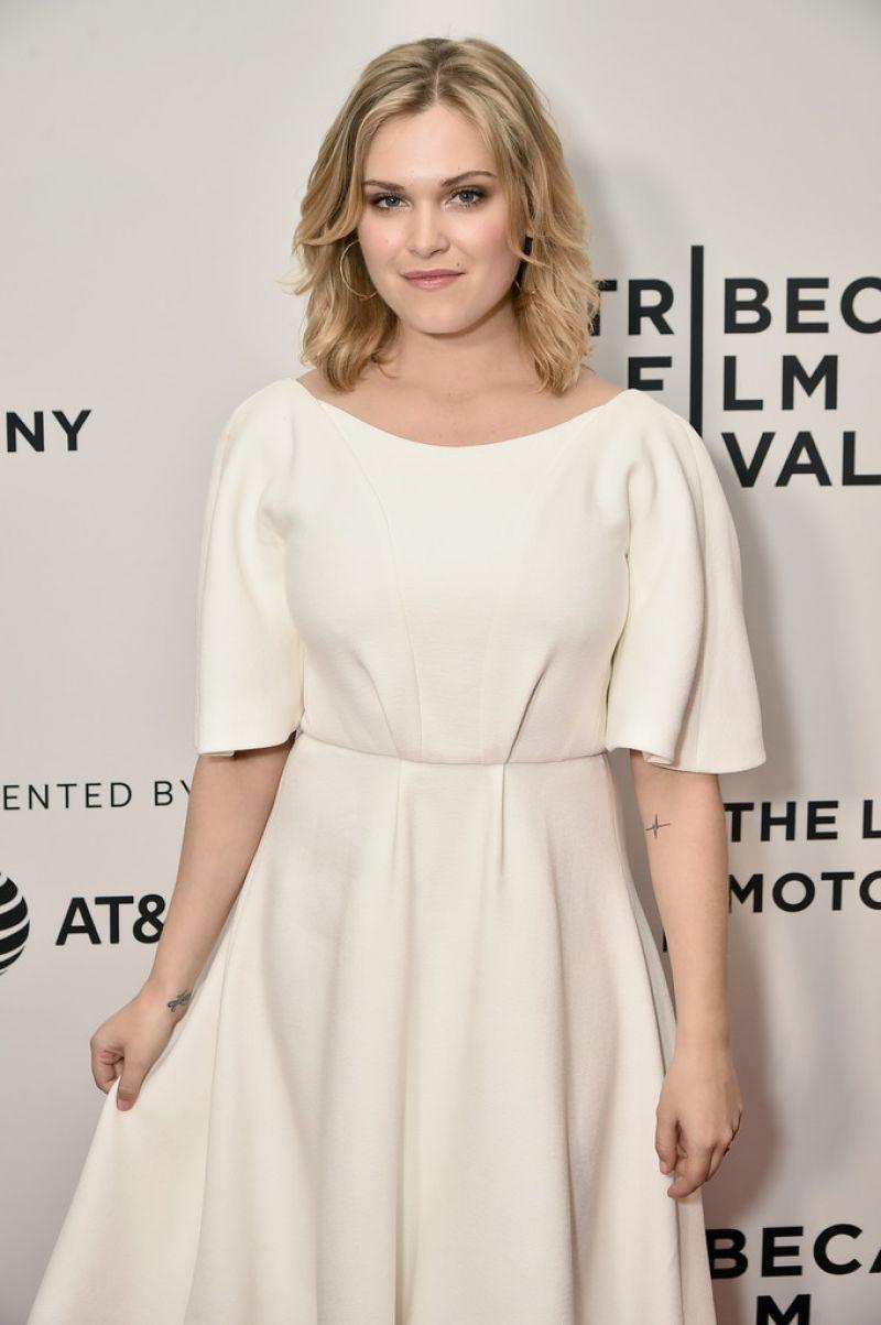 ELIZA TAYLOR at Thumper Premiere at 2017 Tribeca Film Festival in New York 04/20/2017