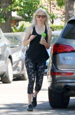 ELIZABETH BANKS Out Hikinig in Los Angeles 04/29/2017