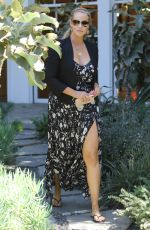 ELIZABETH BERKLEY Shopping at Violet Grey Cosmetics Store in West Hollywood 04/20/2017
