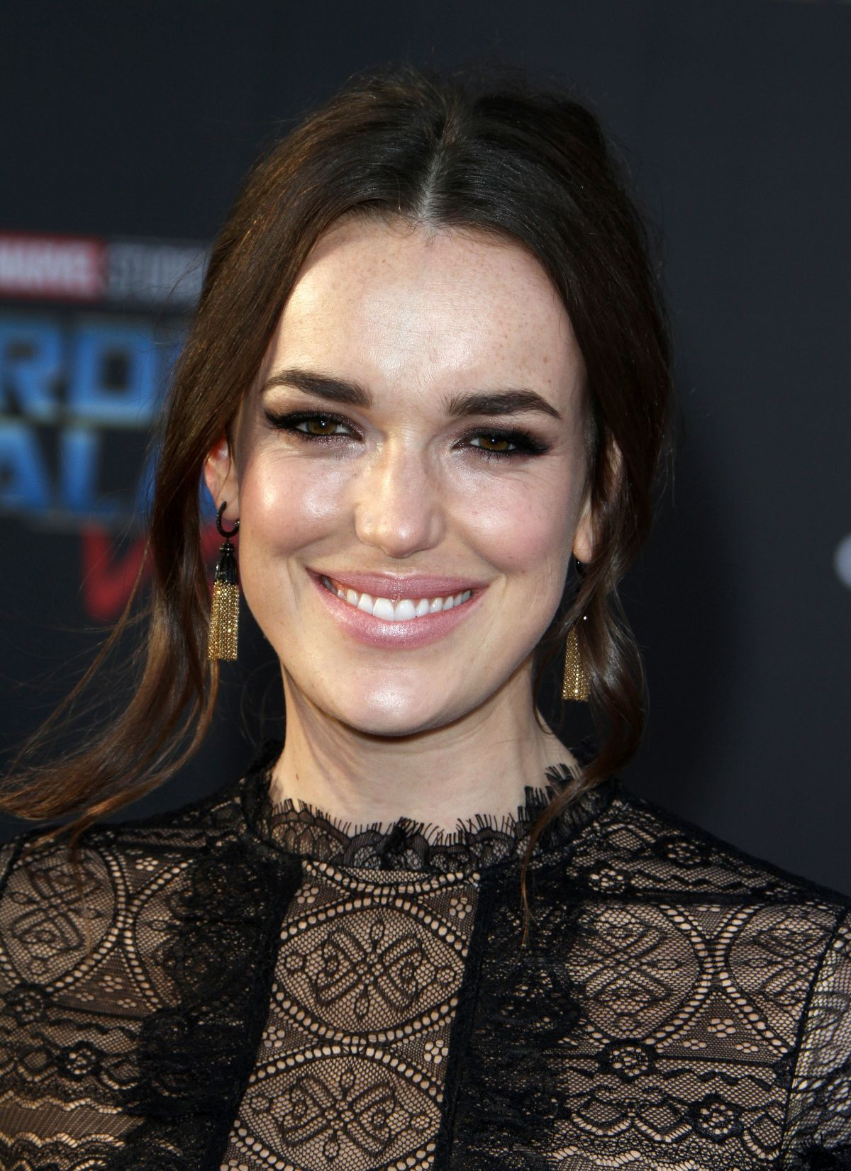 ELIZABETH HENSTRIDGE at Guardians of the Galaxy Vol. 2 Premiere in Hollywood 04/19/2017