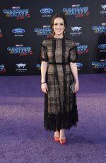 ELIZABETH HENSTRIDGE at Guardians of the Galaxy Vol. 2 Premiere in Hollywood 04/19/2017
